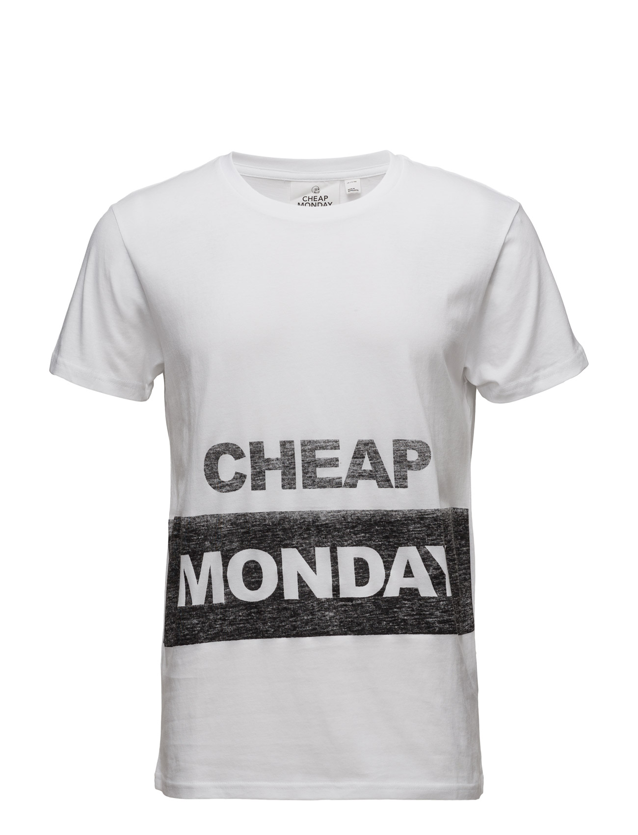 Standard Tee Block Logo Cheap Monday Kort-Hylsa