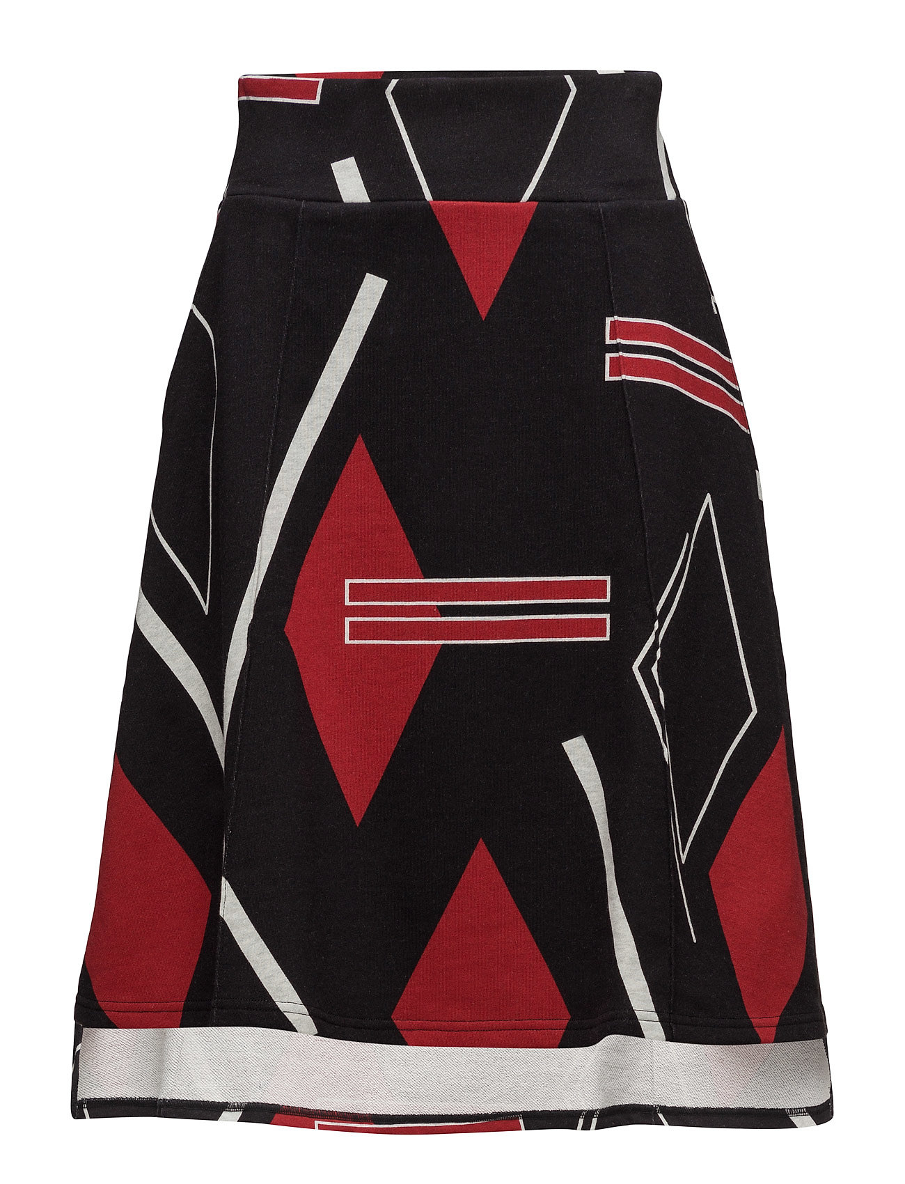 Ultra Skirt Argyle Cheap Monday Knælange & mellemlange til Damer i Sort