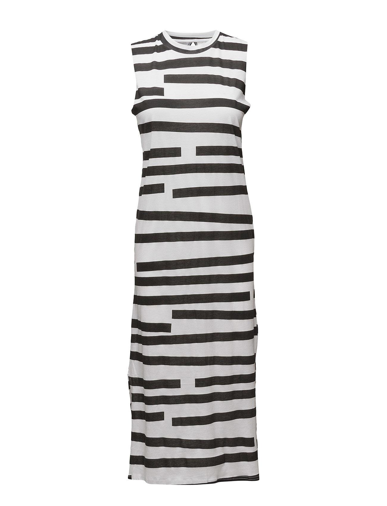 Twine Dress Odd Stripe Cheap Monday Knælange & mellemlange til Damer i hvid