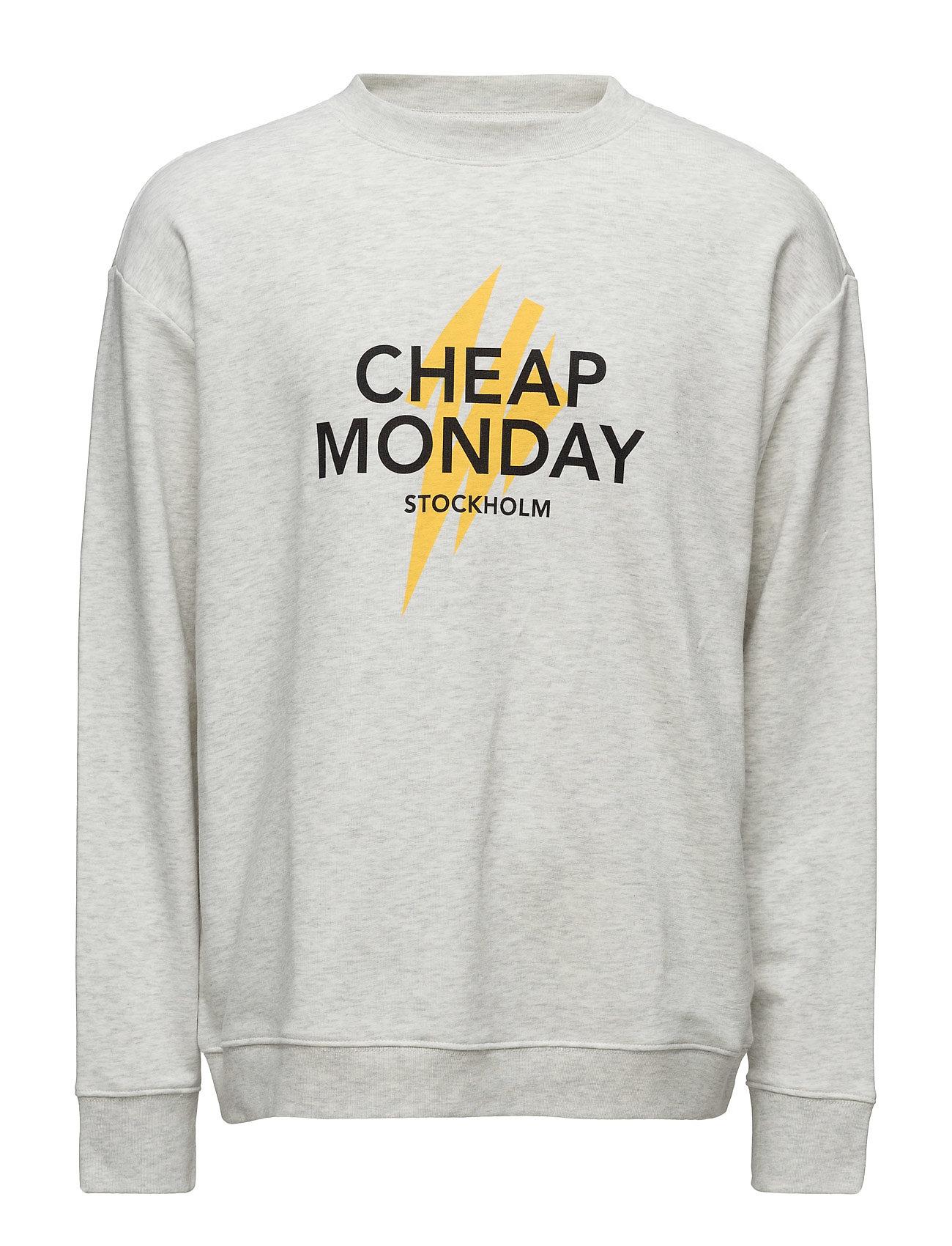 Victory Sweat Lightning Logo Cheap Monday Striktrøjer til Mænd i