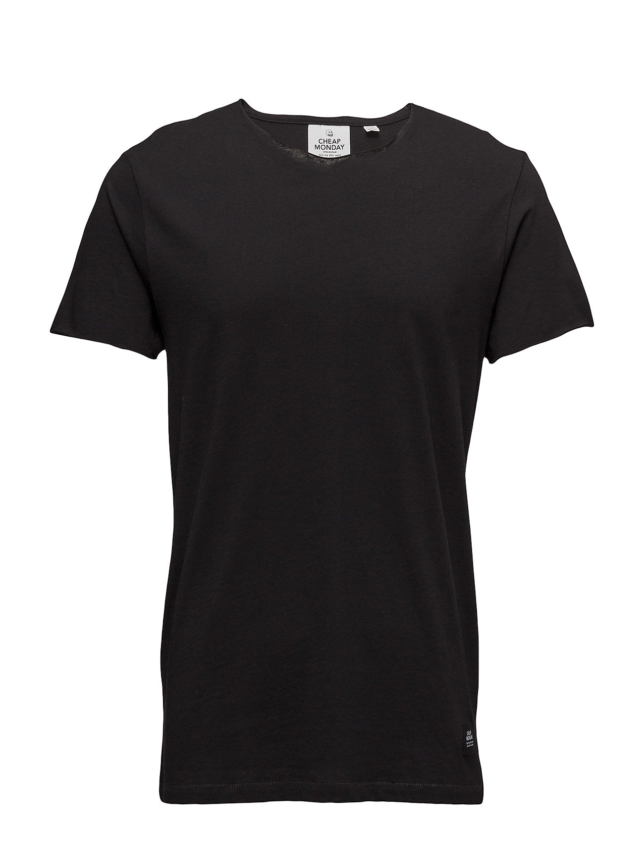 Standard Edge Tee Cheap Monday Kortærmede til Herrer i Sort