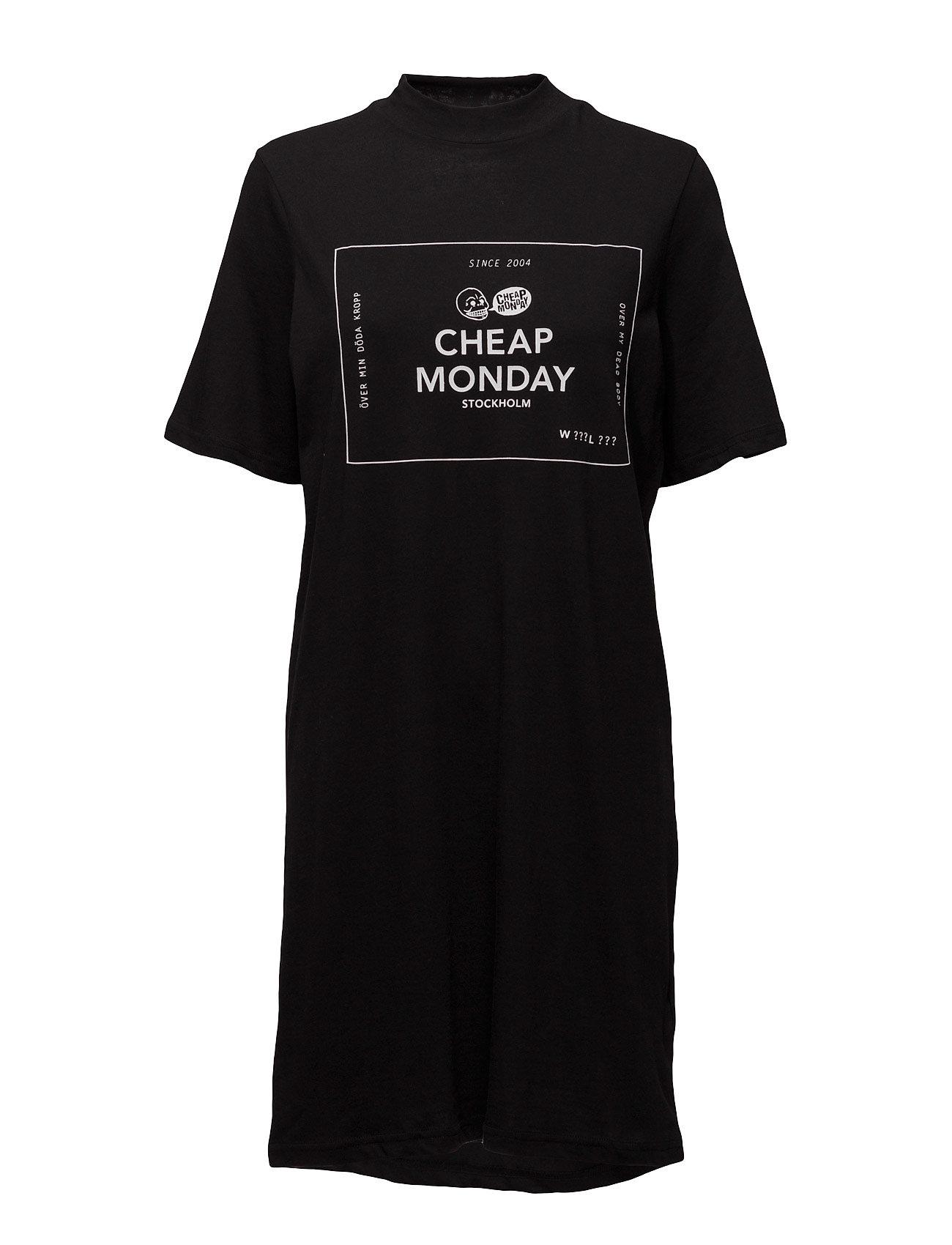 Smash Dress Box Logo Cheap Monday Korte kjoler til Damer i Sort