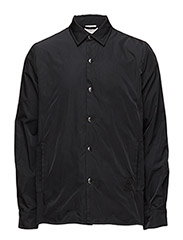 Shell Nylon Shirt - BLACK