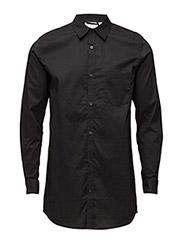Hid Poplin Shirt - BLACK