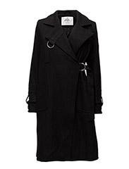 Proud wool coat - BLACK