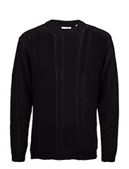 Midnight knit - BLACK