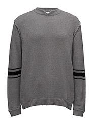 Wannabe knit - GREY MELANGE