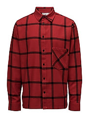 Squared shirt - DEEP RED