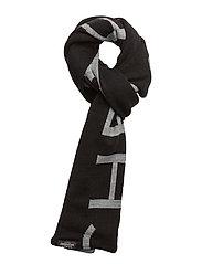 Cheap scarf CM - BLACK/GREY MELANGE
