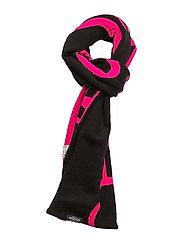 Cheap scarf CM - BLACK/NEON PINK