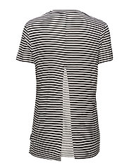 Wager top Small stripe