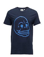 Standard tee Skull - NEW BLUE