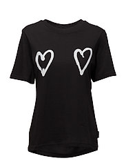 Breeze tee Double love - BLACK