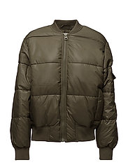Risky bomber - MUD GREEN