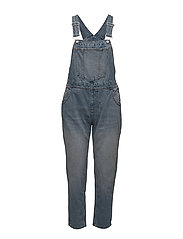 Chore Dungaree Ally Blue - BLUE