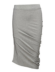 Blink glitter skirt - GREY MELANGE