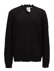 Coin knit - BLACK
