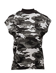 Dig top After camo - BLACK