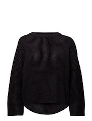 Restrict knit - BLACK