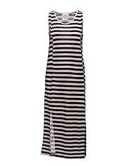 Carry dress Force stripe - Pale pink