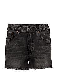 Revive Shorts Black Smoke - Blue