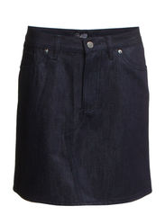Deny skirt - Rinsed blue