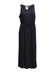 Waist dress - Indigo melange