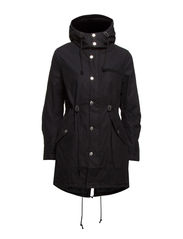 Wanted parka - Black