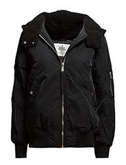 Desert bomber jacket - Black