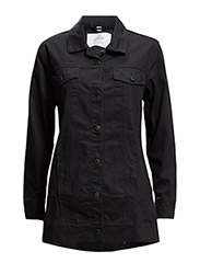 LEAN jacket Rinse Black - Black