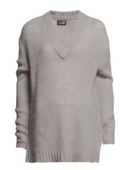 Plexus knit - Grey Melange