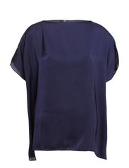 Sheet blouse - Bleak blue
