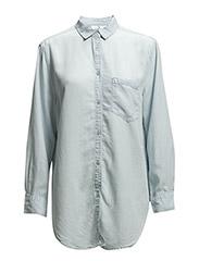 Turn denim shirt - Fade blue