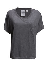 Halo tee - Grey melange