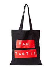 Canvas tote  Fan - Black