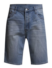 Line shorts - Blue