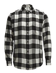 Neo flannel shirt - PUNK BLACK CHECK