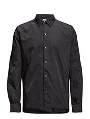 Shell nylon shirt - BLACK