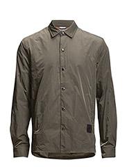 Shell nylon shirt - VINTAGE GREEN