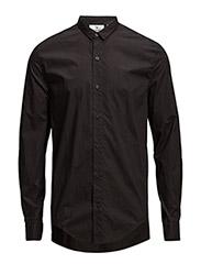 Actual poplin shirt - BLACK