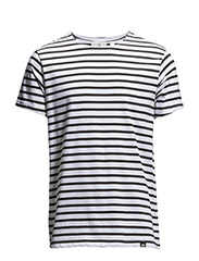 Standard stripe tee - Black stripe