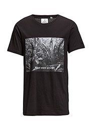 Standard tee what went wrong - Black