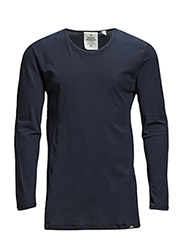 Burn LS tee - Navy