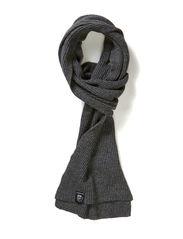 Skull scarf - Fright grey mel