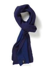 Skull scarf - Indigo blue