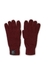Skull gloves - Bruised red mel