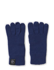 Skull gloves - Indigo blue