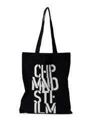 Cheap stencil tote - Black