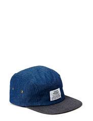 5 panel cap - True blue