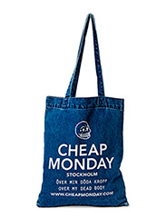 New tote oversized  New logo - blue
